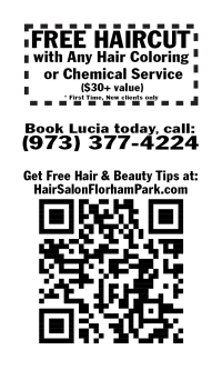 Hair Stylist Florham Park New Jersey